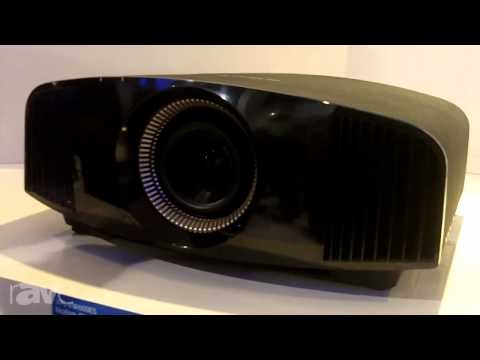 CEDIA 2013: Sony Showcases the VPL-VW600ES 4K Projector