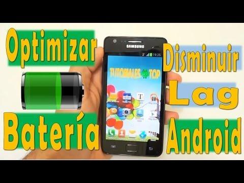 Tutorial Mejorar rendimiento de la batería y Disminuir Lag   Android