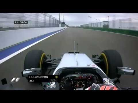 F1 Sochi 2015 Nico Hulkenberg Force India Mercedes VJM08B