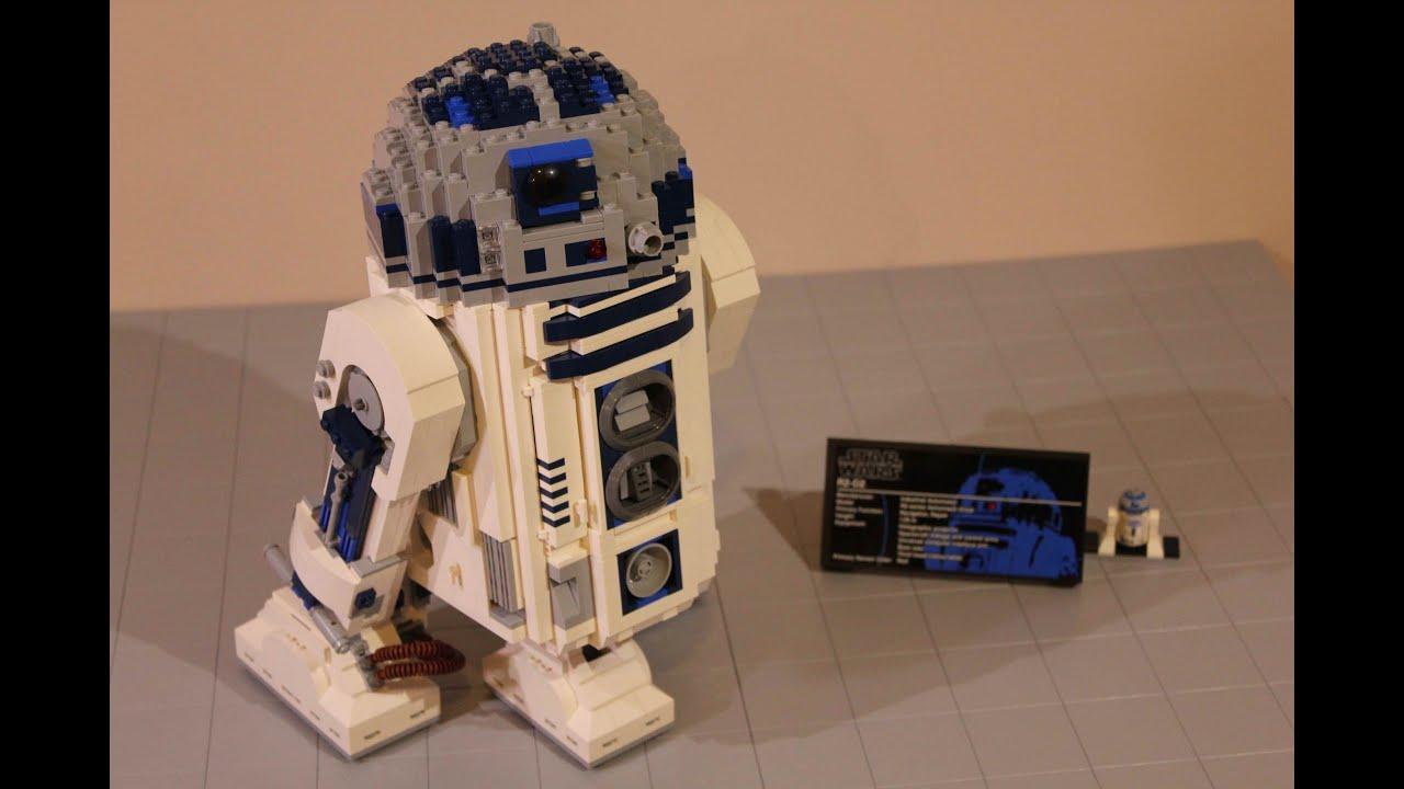 Lego star wars ucs r2 d2 review 10225 youtube - Lego starwars r2d2 ...