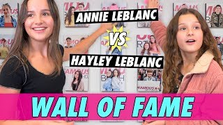 Annie vs Hayley LeBlanc - Wall of Fame