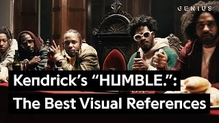 "Kendrick Lamar's ""HUMBLE"": The Video's Best Visual References 