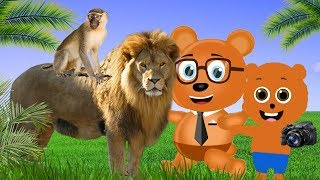 Gummy Bear Baby at the Zoo ❤ Children's cartoons Nursery Rhymes
