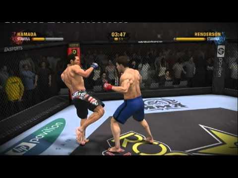 EA sports MMA gameplay 1