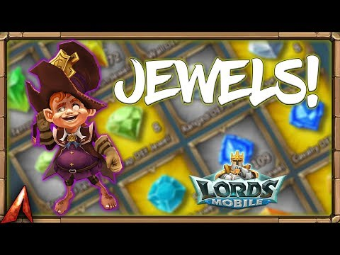 Opening 110 Legendary Jewel Chests! Decisions Decisions! Lords Mobile