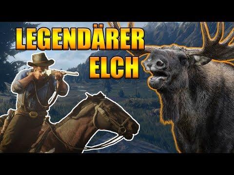 Legendärer Elch Red Dead Redemption 2 - Legendäre Tiere jagen