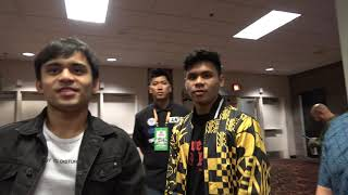 Manny Pacquiao Sons Reaction To Pacquiao Win  EsNews Boxing
