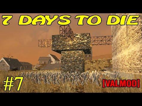 7 Days to Die [Valmod] ► Оборона ► №7 (16+)