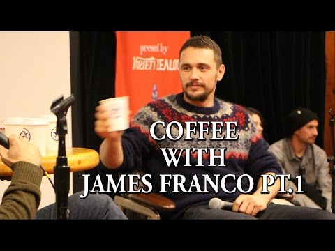 Slamdance 2015:  Coffee with James Franco pt 1