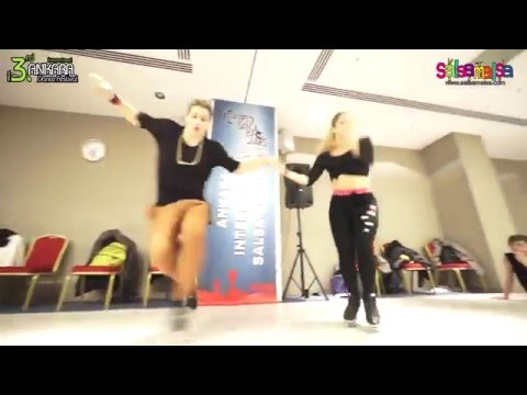 Antonio & Jasmina Afro Cuba Orishas Workshop Demo  | AIDC-2015