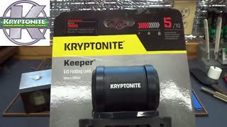 (1304) Review: Kryptonite Keeper 510 Bicycle Lock
