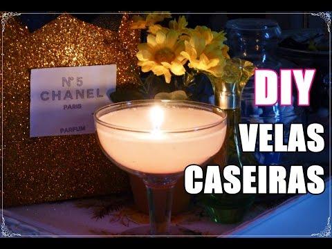 DIY | Velas Caseiras ♥