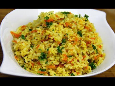 Amazing Carrot Rice (vegan + gluten free) | CaribbeanPot.com