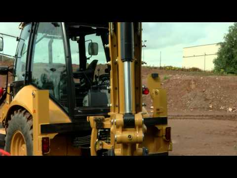 Cat F Series Backhoe Loader E Stick Adjustment - Service Tips
