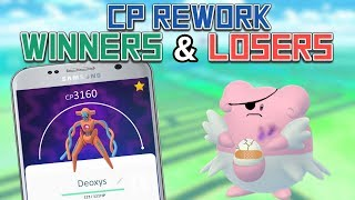 Top Winners And Losers From The CP Rework In Pokemon Go!