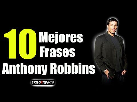 Las 10  mejores frases de Anthony Robbins - #Motivación