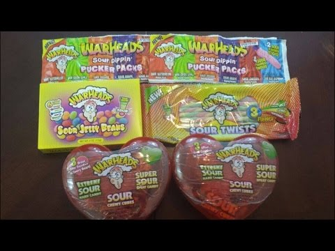 The Warheads Smoothie Challenge vs. Dude Where's My Challenge