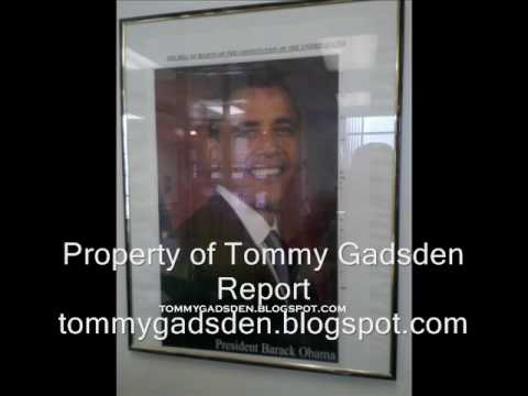 Obama Picture Framed Over Bill of Rights in Peabody Middle School, Petersburg, VA