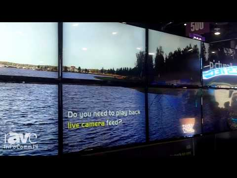 InfoComm 2014: Picturall Shows its Broadcast Server Driving 8 4k Displays
