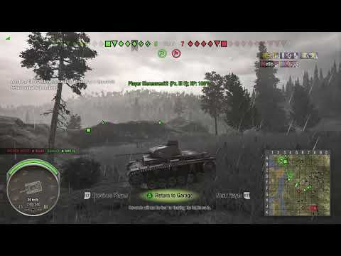 World of Tanks Xbox one Pz.Kpfw. I Ausf. C 6 Kills