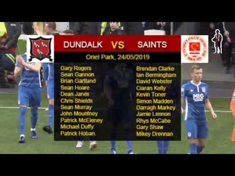 Highlights: Dundalk 1 - Saints 0 (24/05/2019)