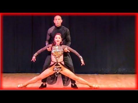 Kadu Pires & Larissa Thayane - Zouk Dance Performance at ZoukMe SF 2017