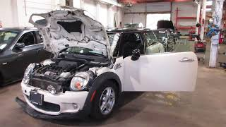 Parting out a 2007 Mini Cooper parts car - 180335 - Tom's Foreign Auto Parts