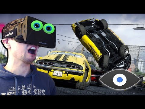Next Car Game with the Oculus Rift | CLOSE UP CARNAGE