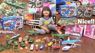 Toy Channel: Airport Playset, Military Toy Soldiers, Toy Tanks, Helicopter Toys and RC TANKS