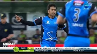Sydney Thunder v Adelaide Strikers, BBL|07