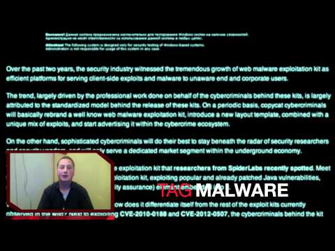 Vlog: CIC News 6-5-2012: Researchers spot new Web malware exploitation kit