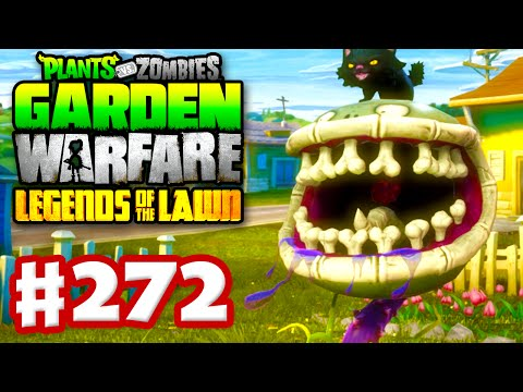 Plants vs. Zombies: Garden Warfare - Gameplay Walkthrough Part 272 - Spooky Scary Chomper! (PC)