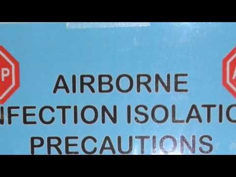 Isolation Precautions Signs on Isolation Precautions