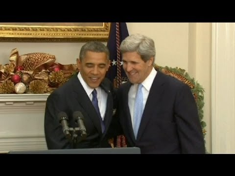 John Kerry nominated as next US secretary of state