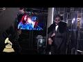 Jason Derullo & Halsey | Backstage | 59th GRAMMYs