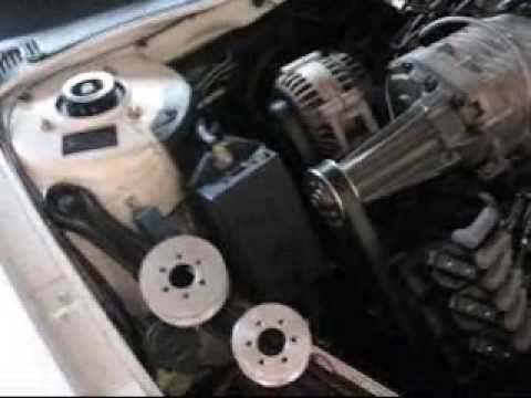 3800 Series 2 Supercharged Modular Pulley System MPS Demo