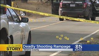 Mass Shooting Suspect Kills Four, Injures Ten In Tehama County