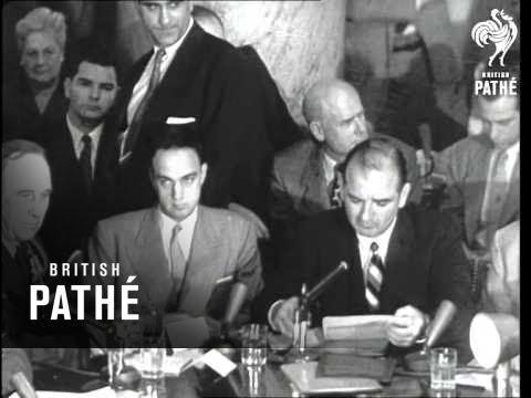 Senator Mccarthy Dead At 47 (1957)