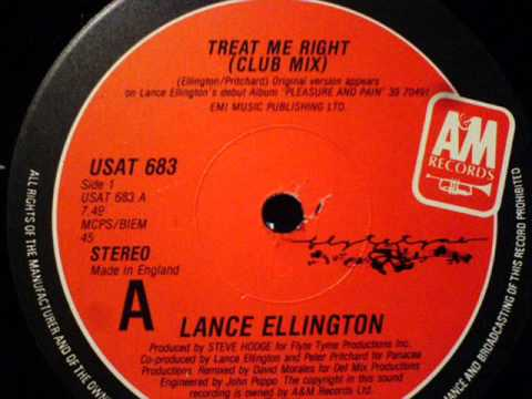 Lance Ellington - Treat Me Right (Club Mix)