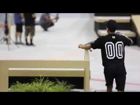 Nyjah Huston 2014 SLS Super Crown NJ Practice
