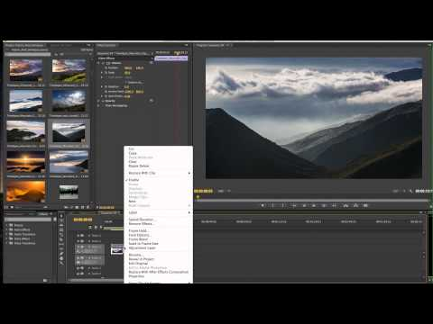 REMOVING TIMELAPSE CAMERA SHAKE: ADOBE PREMIERE TUTORIAL