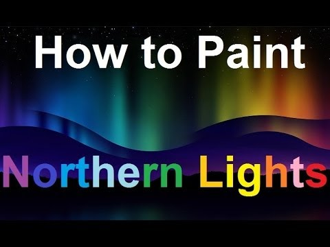 Northern Light Paint Colours