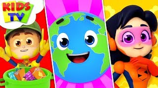 Keep Our Planet Clean | The Supremes Cartoons | Children Songs & Learning Videos - Kids TV