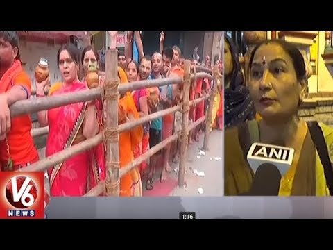Sawan Monday | Devotees Queue Up At Shiva Temples Across India | V6 News