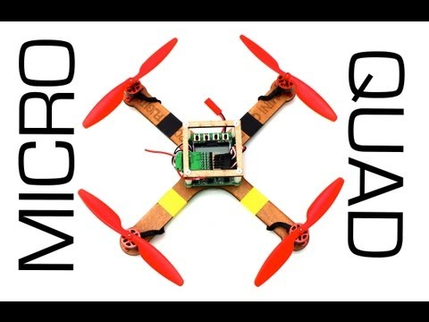 Micro Quadcopter Kit RCTESTFLIGHT