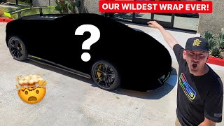NEW LAMBORGHINI WRAP REVEAL! *OUR CRAZIEST DESIGN EVER!*