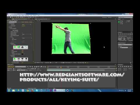 After Effects CS6 Tutorial #04: Chroma-Keying Featuring Keylight and Primatte Keyer