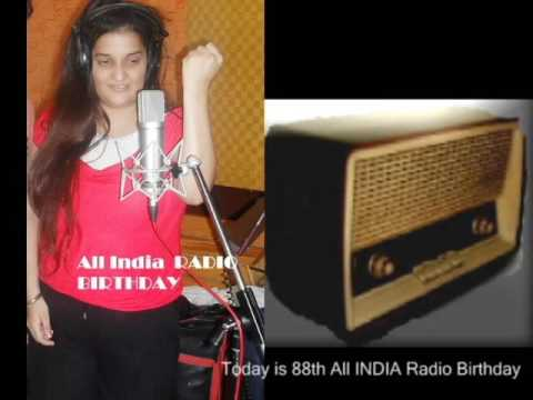 ALL INDIA RADIO - 88th Happy Birthday