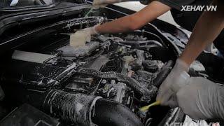 [XEHAY.VN] Tư vấn rửa khoang động cơ ô tô