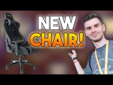 I Carried So Much My Back Needs To Rest! EWIN RACING CHAIR